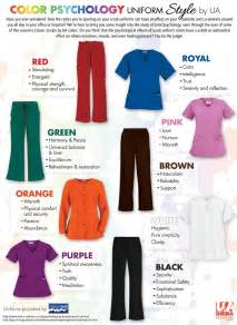 scrub colors the nursing site color psychology what color