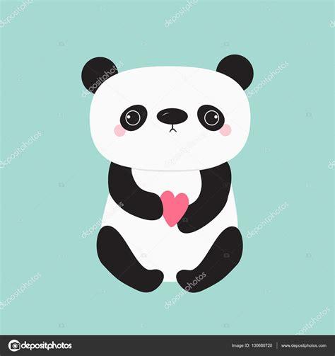 imagenes de oso kawaii beb 233 oso kawaii panda vector de stock 169 worldofvector