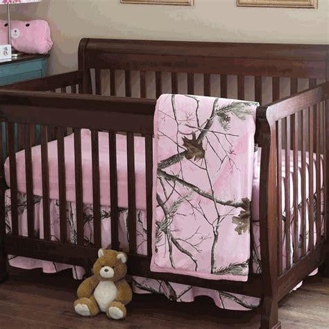 realtree camo crib bedding set realtree camo bedding 3 pink camo realtree ap crib