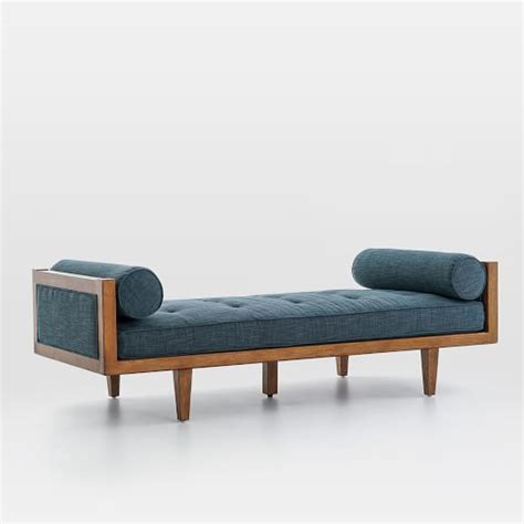 Wood Daybed Frame Wood Frame Tufted Daybed West Elm