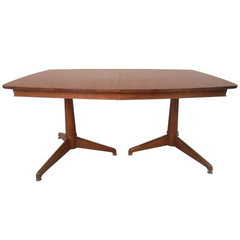 mid century modern dining room table large and beautiful