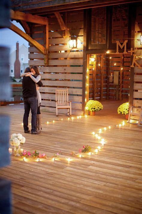 marriage proposal ideas deer pearl flowers