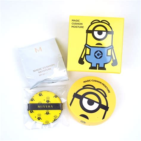 Harga Missha Magic Cushion Minion missha minions magic cushion moisture review