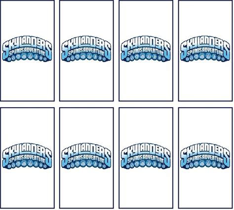 mini bar wrapper template skylanders printables a collection of ideas to try about