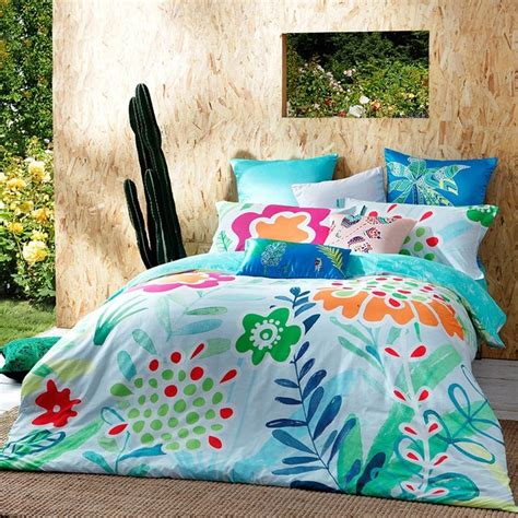 turquoise and orange bedding turquoise green red and orange rustic style tropical