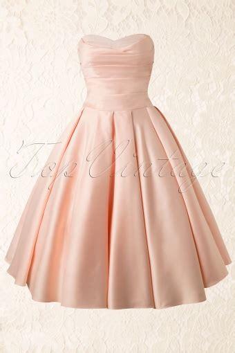 peach swing dress 50s princess dream dress in peachy satin