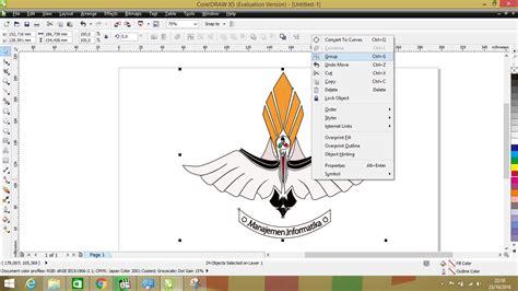 membuat watermark di coreldraw x5 membuat logo menggunakan corel draw x5 kuas