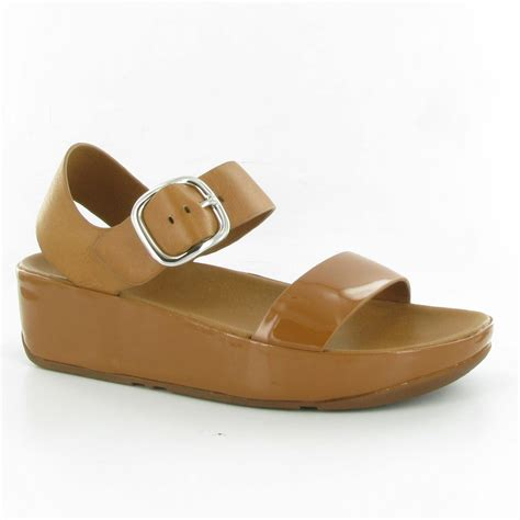 fitflop sandal fitflop bon flat sandals in camel