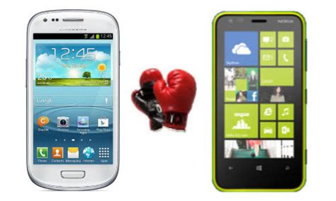 Hp Nokia Lumia Jelly Bean samsung galaxy s3 mini vs nokia lumia 620 will you choose a jelly bean dessert or an apollo