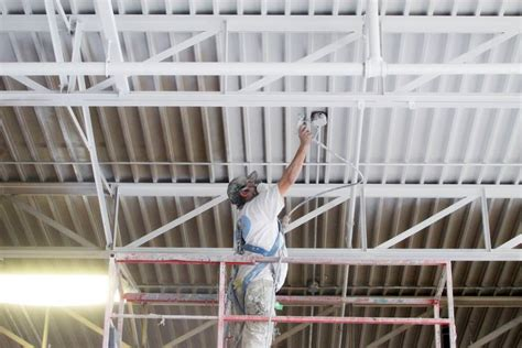 Industrial Ceiling Paint by Ceiling Painting L Metal Ceiling Painters For Warehouses