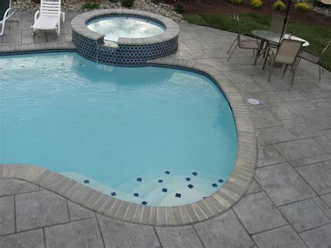 stamped concrete archive landscaping company nj pa