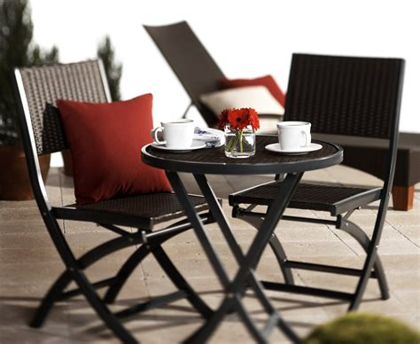 strathwood ritta all weather wicker 3 bistro set