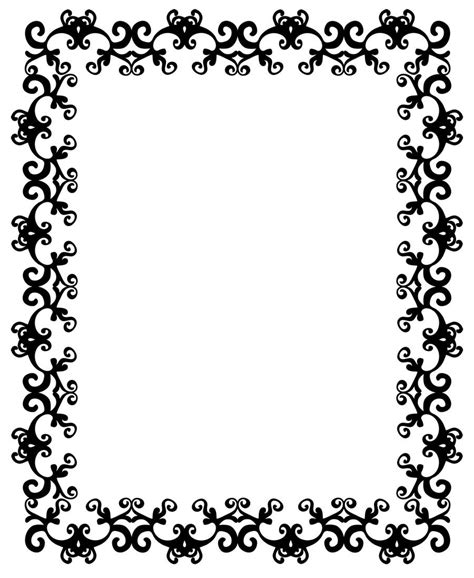 design frame pattern free clipart boarders 40 stunning free clip art borders
