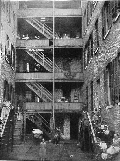 Tenenment porches, on or around Taylor St, c.1901, Chicago