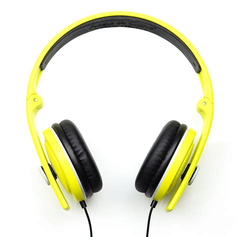 Headphone Lunar Carboncans Headphones Sunset Yellow Lunar Grey With