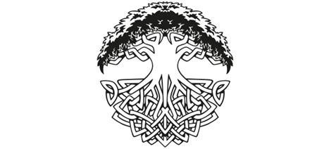 wandtattoo lebensbaum kinderzimmer wandtattoo keltischer lebensbaum