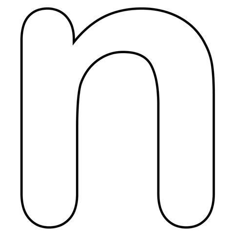 letter n template free letter n worksheets coloring pages
