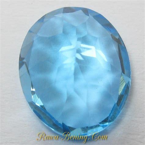 Swiss Blue Topaz Memo jual batu permata swiss blue topaz 2 73 carat lengkap memo