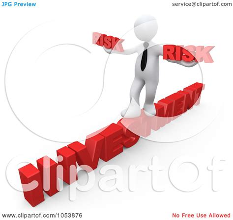 royalty free 3d clip art illustration of a 3d white
