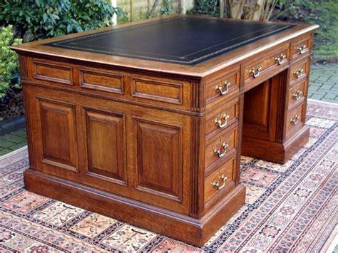 used old desk sale antique desks antique english solid oak pedestal desk