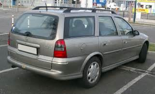 Opel Kombi File Opel Vectra Kombi Rear 20080108 Jpg