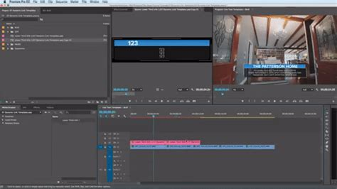 Working With After Effects Text Templates Inside Premiere Pro Text Template Premiere Pro