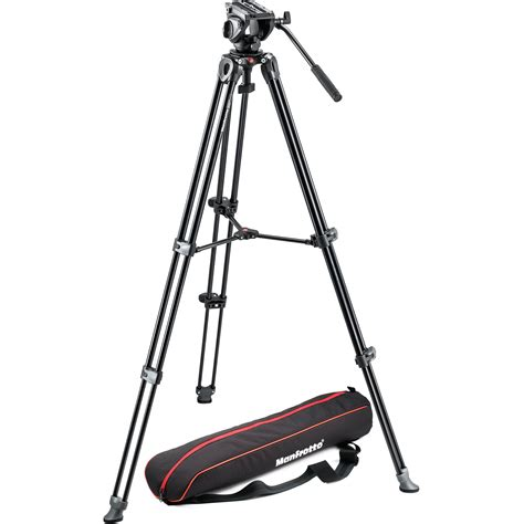 tripod manfrotto manfrotto mvh500a fluid drag with mvt502am mvk500am