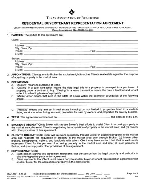 buyers contract template 10 best images of home buyer seller agreement real
