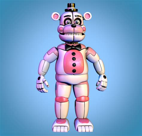 fun time freddy funtime freddy extras pic remake by jorjimodels on deviantart