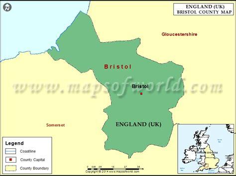 bristol map bristol county map uk