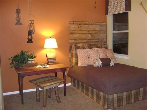 Rustic Bedroom Colors by Rustic Bedroom Great Wall Color Decorating Ideas