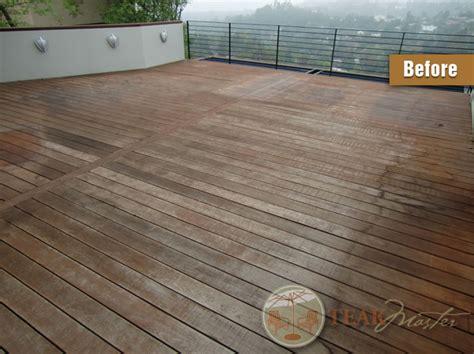 deck refinishing restoration los angeles