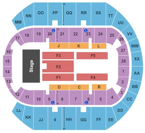 ms coast coliseum seating chart gulf coast biloxi tickets 2017 gulf coast