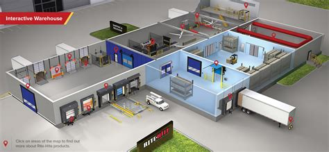 Design A Warehouse Floor Plan by Loading Dock Equipment Doors Barrier Systems Amp Hvls Fans
