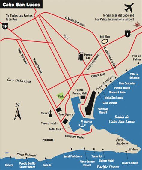 san jose golf map ochoa golf foundation cabo golf