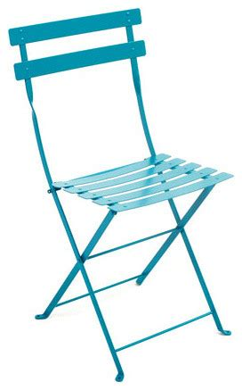 Turquoise Bistro Chair Fermob Turquoise Bistro Chair Modern Outdoor Lounge Chairs By Bonmarcheonline