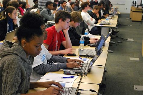 High School Mba by Johns Carey Business School Hosts Hackathon For