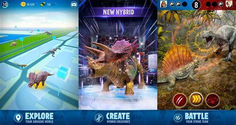 mod game jurassic world jurassic world alive เกมไดโนเสาร ar แบบ pokemon go