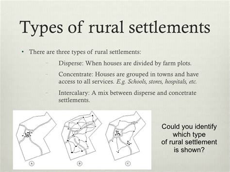 types pattern and morphology of rural settlement in india poblamiento