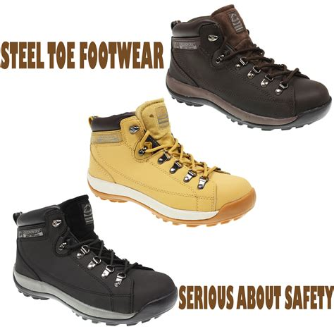 lightweight safety boots for mens groundwork lightweight safety steel toe cap work