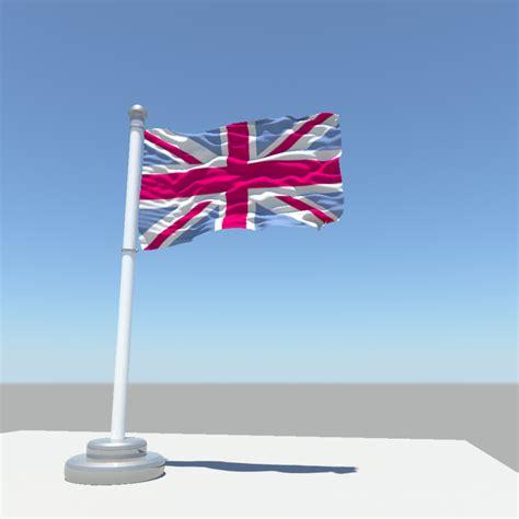 united kingdom flag 3d model obj fbx ma mb cgtrader united kingdom flag 3d model obj fbx ma mb cgtrader