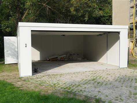 systembox garagen fertiggarage typ iso klassik