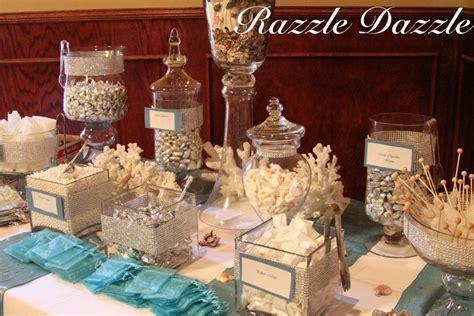 Beach theme candy bar. Razzle Dazzle, Corpus Christi, TX