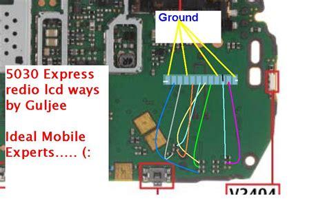 1661 5030c 1616 1800 Nokia Lcd 702362 nokia 5030 express radio lcd path ways track