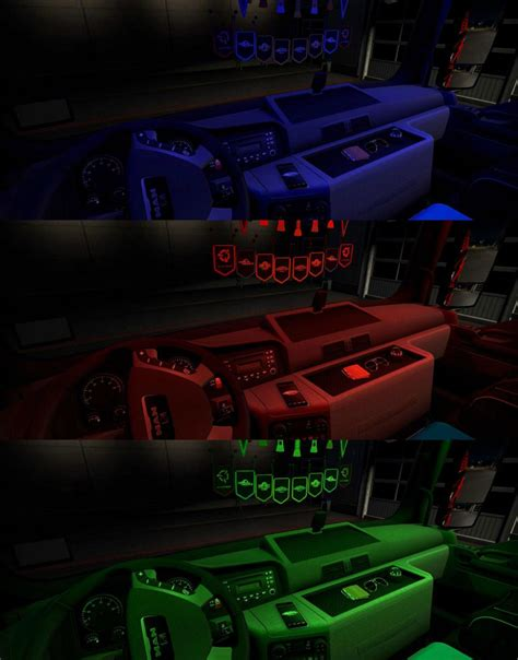 for lights interior lights animated v0 5 beta mod truck