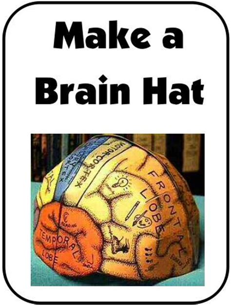 the brain hats and templates on pinterest