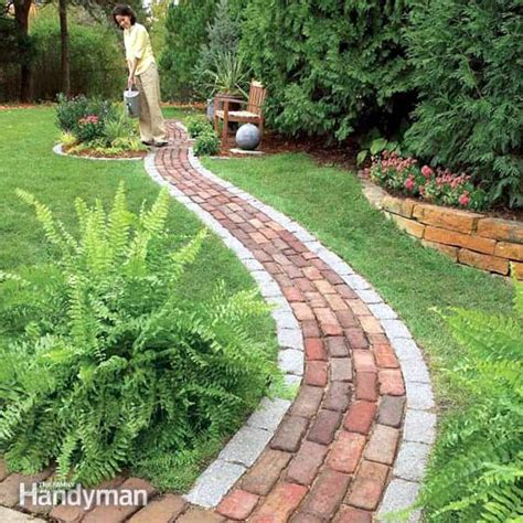 backyard pathway 25 most beautiful diy garden path ideas a piece of rainbow