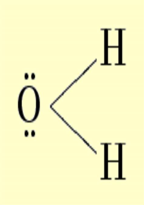 lewis diagram for h2o lonepairs