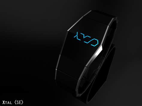 Jam Tangan Shape Simple Design xtal smart hides its true power below a sleek black