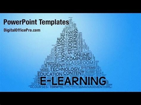 elearning powerpoint templates elearning word cloud powerpoint template backgrounds